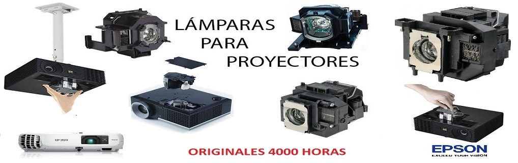 Repuestos originales /genericos y reparacion de proyectores Epson Benq Viewsonic